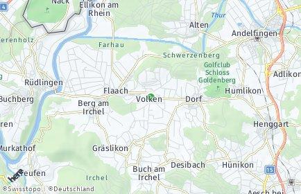 Stadtplan Volken