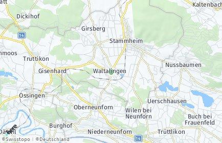 Stadtplan Waltalingen
