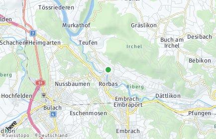 Stadtplan Freienstein-Teufen