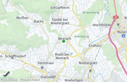Stadtplan Neerach