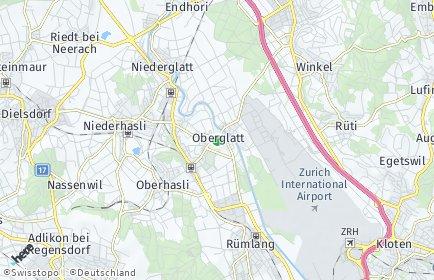 Stadtplan Oberglatt