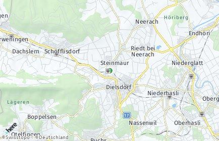 Stadtplan Steinmaur
