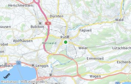 Stadtplan Rüti (ZH)