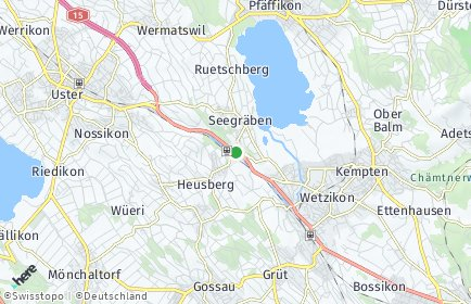 Stadtplan Seegräben