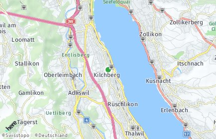 Stadtplan Kilchberg (ZH)