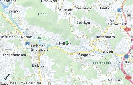 Stadtplan Dättlikon