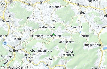 Stadtplan Schlatt (ZH)