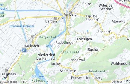 Stadtplan Radelfingen