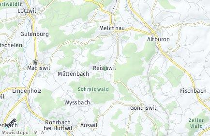 Stadtplan Reisiswil