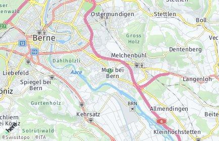 Stadtplan Muri bei Bern