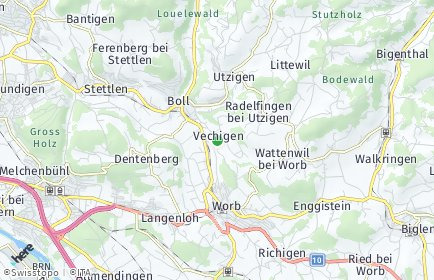 Stadtplan Vechigen