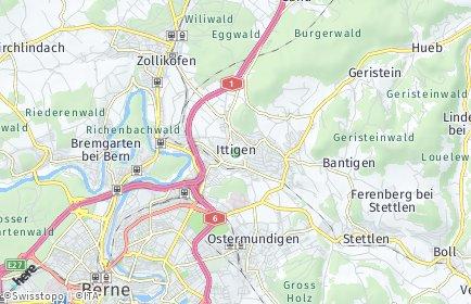 Stadtplan Ittigen OT Ittigen