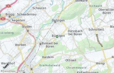 Stadtplan Büetigen