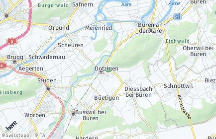 Stadtplan Dotzigen