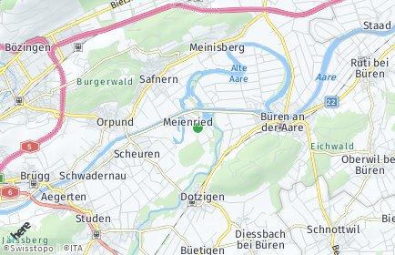 Stadtplan Meienried