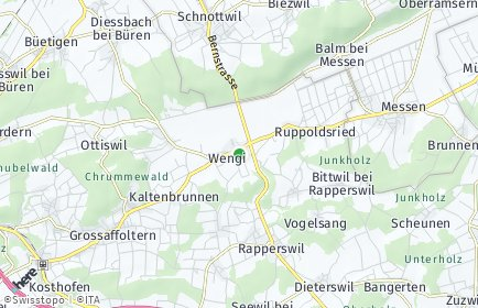 Stadtplan Wengi