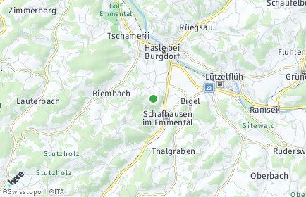 Stadtplan Hasle bei Burgdorf