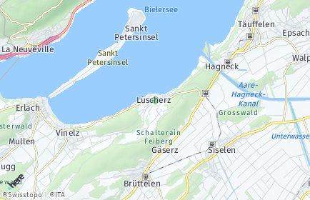 Stadtplan Lüscherz