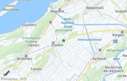 Stadtplan Siselen