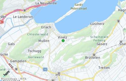 Stadtplan Vinelz