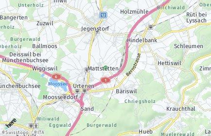 Stadtplan Mattstetten