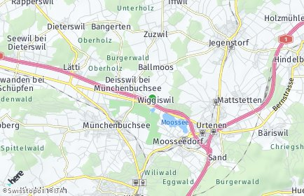 Stadtplan Wiggiswil
