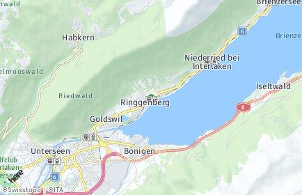 Stadtplan Ringgenberg (BE)