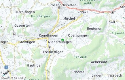 Stadtplan Niederhünigen