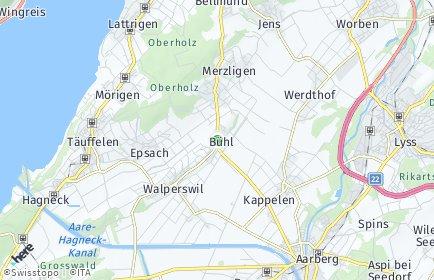 Stadtplan Bühl
