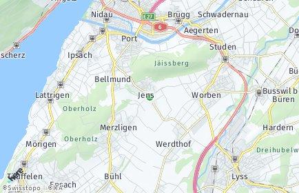 Stadtplan Jens