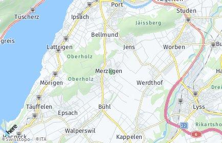 Stadtplan Merzligen