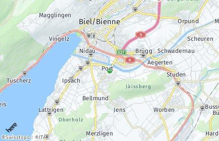 Stadtplan Port
