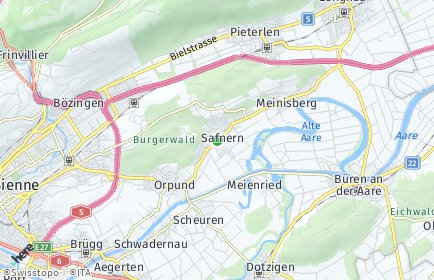 Stadtplan Safnern
