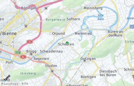 Stadtplan Scheuren