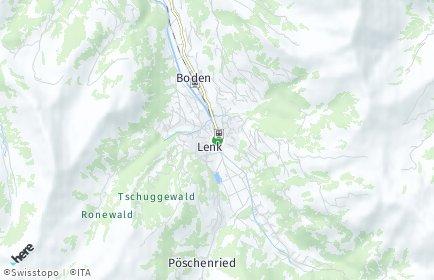 Stadtplan Lenk