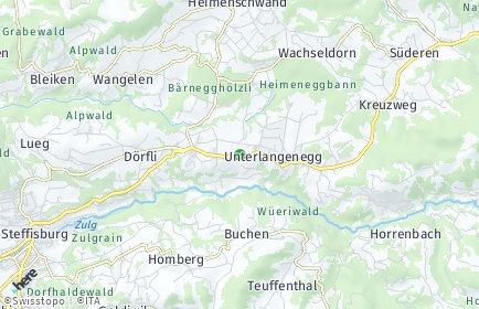 Stadtplan Unterlangenegg