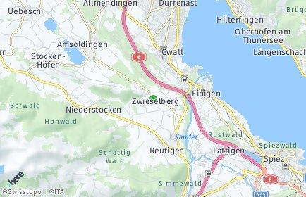 Stadtplan Zwieselberg