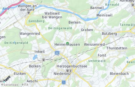 Stadtplan Heimenhausen