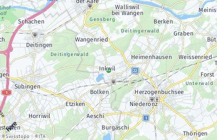 Stadtplan Inkwil