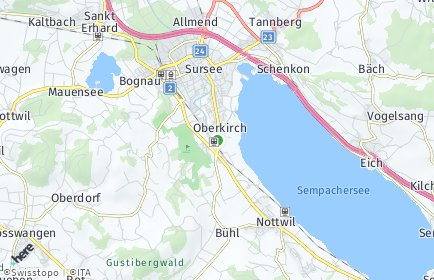 Stadtplan Oberkirch
