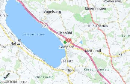 Stadtplan Sempach