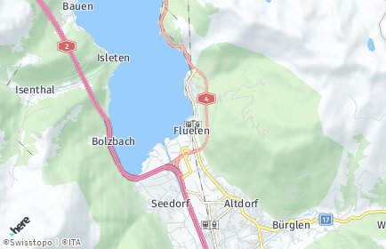 Stadtplan Flüelen