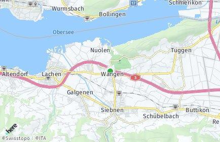 Stadtplan Wangen (SZ)