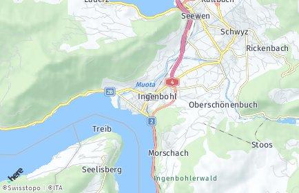 Stadtplan Ingenbohl OT Ingenbohl
