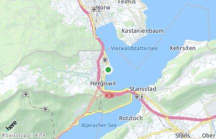 Stadtplan Hergiswil (NW)