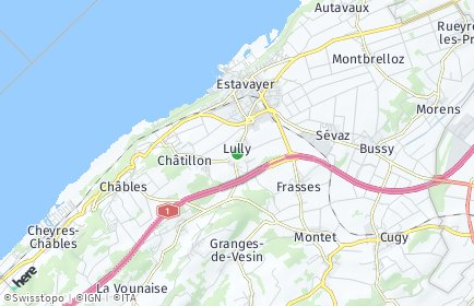 Stadtplan Lully (FR)