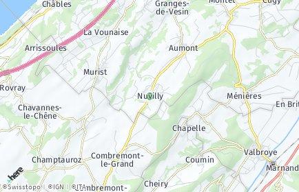 Stadtplan Nuvilly