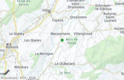 Stadtplan Massonnens