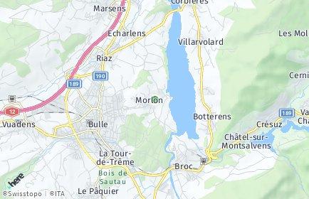 Stadtplan Morlon