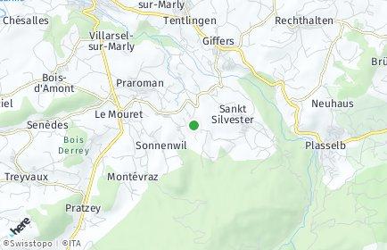 Stadtplan Le Mouret
